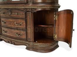 Michael Amini Dining Room Sets Aico Furniture Bella Veneto Buffet And China By Michael Amini