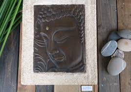 deco chambre zen bouddha décoration murale zen tête bouddha bronze décorations murales