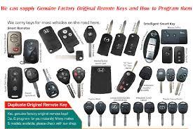 toyota car and remotes original remote by locksmith com