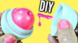 diy eos nail polish how to make glitter nail polish youtube