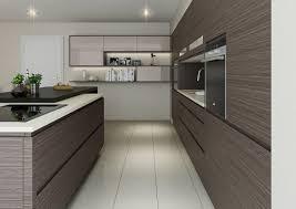 design open shelving sink faucet dark brown varnished wood