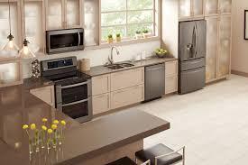 kitchen ideas with stainless steel appliances lg black stainless steel series emily henderson kitchen decor