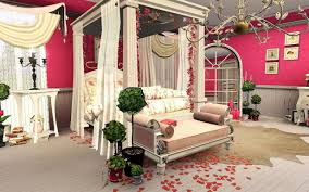 Valentine Home Decor Awesome Vintage Valentine Home Decor With Amazing Master Bed And