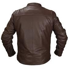 brown motorcycle jacket deuce perforated leather jacket fieldsheer performance