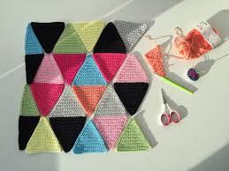 triangle cushion cover marrose u2013 colorful crochet u0026 crafts