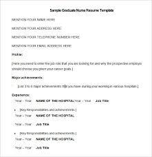 nursing resume template 9 free samples examples format download