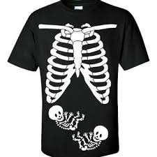 Skeleton Maternity Halloween Costumes Shop Twin Halloween Costumes Wanelo