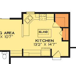 Flexible Home Plans Kitchen Sink Placement Kitchen Window House Plans