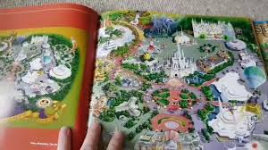 Map Of Disney World Parks Maps Of The Disney Parks Charting 60 Years From California To