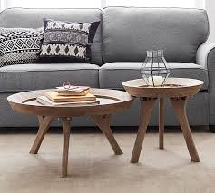 Occasional Table And Chairs Moraga Coffee Table Pottery Barn