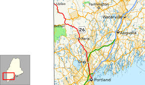 Map Of Portland Maine Maine State Route 26 Wikipedia