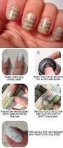 newspaper nail art tutorial alldaychic