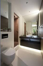 tiny narrowed apartment inside zelenograd bathroom interior