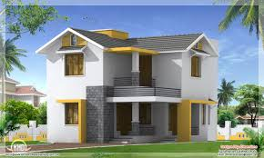 Kerala Home Design Blogspot by Sq Feet Simple Budget Home Design Kerala Home Design And Floor Plans