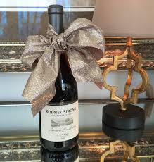 wine bottle bows the of the hostess gift
