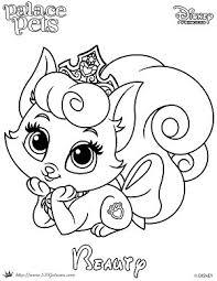 princess palace pet coloring page of beauty skgaleana