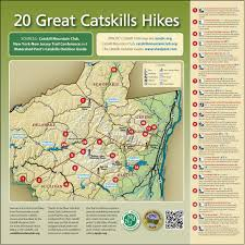 Big Sky Trail Map Some Of Our Favorite Catskill Hikes U2013 With Travel Directions