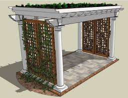 Roofing For Pergola by Green Roof Garden Structures Solar Stages U0026 Pergolas By Finehouse