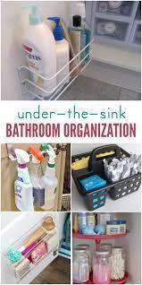 15 ways to organize under the bathroom sink bathroom sink