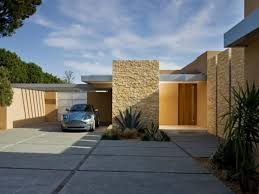Single Story Flat Roof House Designs Stunning Contemporary Single Story House Design Contemporary