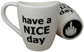 interesting mugs amazon com have a nice day coffee mug funny cup with middle