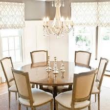 Bay Window With Round White Lacquered Dining Table Contemporary - Room and board dining tables