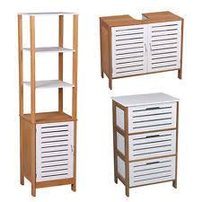 scandinavian bathroom cabinets u0026 cupboards ebay