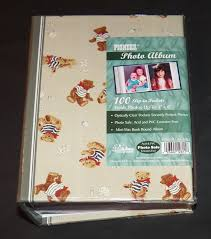 small photo album 4x6 pioneer teddy shells small album holds 100 4x6 photos baby