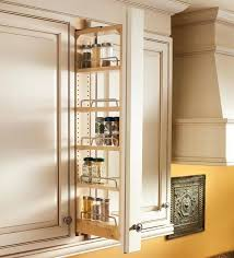 pull out base cabinet spice rack pull out spice racks kitchen
