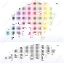 Map Of China And Hong Kong by Vector Image Map Of Hong Kong Sar China With Dot Pattern Royalty