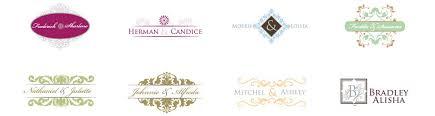 create monogram initials free wedding monogram maker by designmantic
