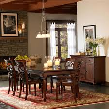Home Furniture Dining Table Aspenhome Cambridge Dining Leg Table With 2 Extension Leaves