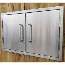stainless steel kitchen cabinet doors uk draco grills stainless steel build in outdoor kitchen