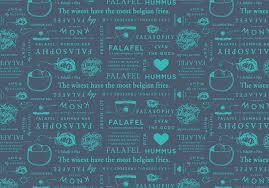 pattern brand logo falasophy food truck design womb
