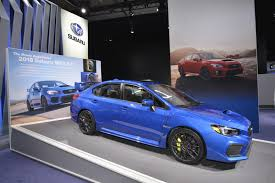 yellow subaru wrx 2018 subaru wrx and wrx sti look the same but are more capable
