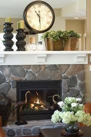 Mantle Piece Clock Stylish Fireplace Mantel Decor Inspired Home Life