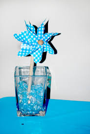 Centerpieces For Boy Baptism by Best 25 Pinwheel Centerpiece Ideas On Pinterest Pinwheel