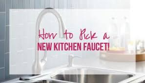 new kitchen faucet how to install a kitchen faucet happily after etc