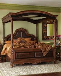 Mahogany Bed Frame Carved Mahogany Bed Frame This Beautiful Was Ha Flickr