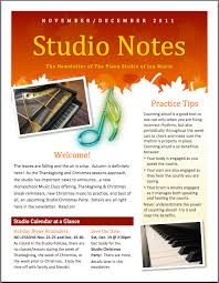 sle studio newsletter color in my piano