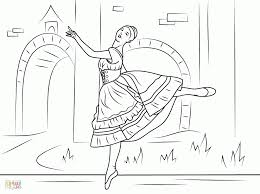 swan lake coloring page coloring home