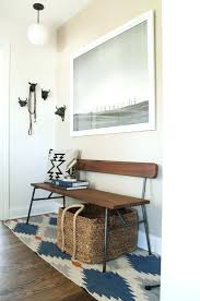 Entryway Bench Seat At Home With Sarah Gibson In Dayton Ohio Small Bench Seat For