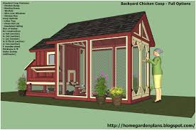 backyard chicken coop plans pdf home outdoor decoration