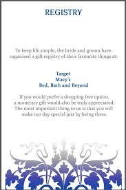 creative wedding registries wedding gift registry ideas sheriffjimonline