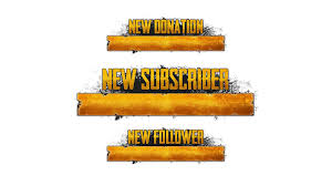 pubg logo pubg twitch alerts streamlays com