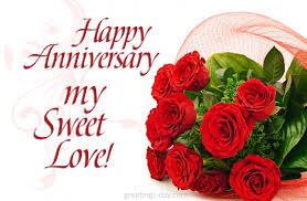 happy anniversary my sweet anniversary
