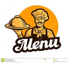 logo chef de cuisine cook chef vector logo restaurant cafe or dish meal food icon