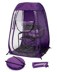 chair tents the weather pods the original pop up personal tent