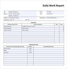 daily report sheet template daily report sheet template aiyin template source