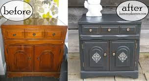 chalk paint cabinets distressed kammy s korner charcoal black cabinet distressed chalk paint how to
